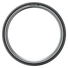 Wire Pirelli Tire 700x32C Black Cycl-e DTS Clincher