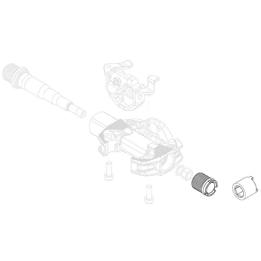 Ensemble de 2 embout + outil - Torque 4 Nm Noir X-TRACK RACE